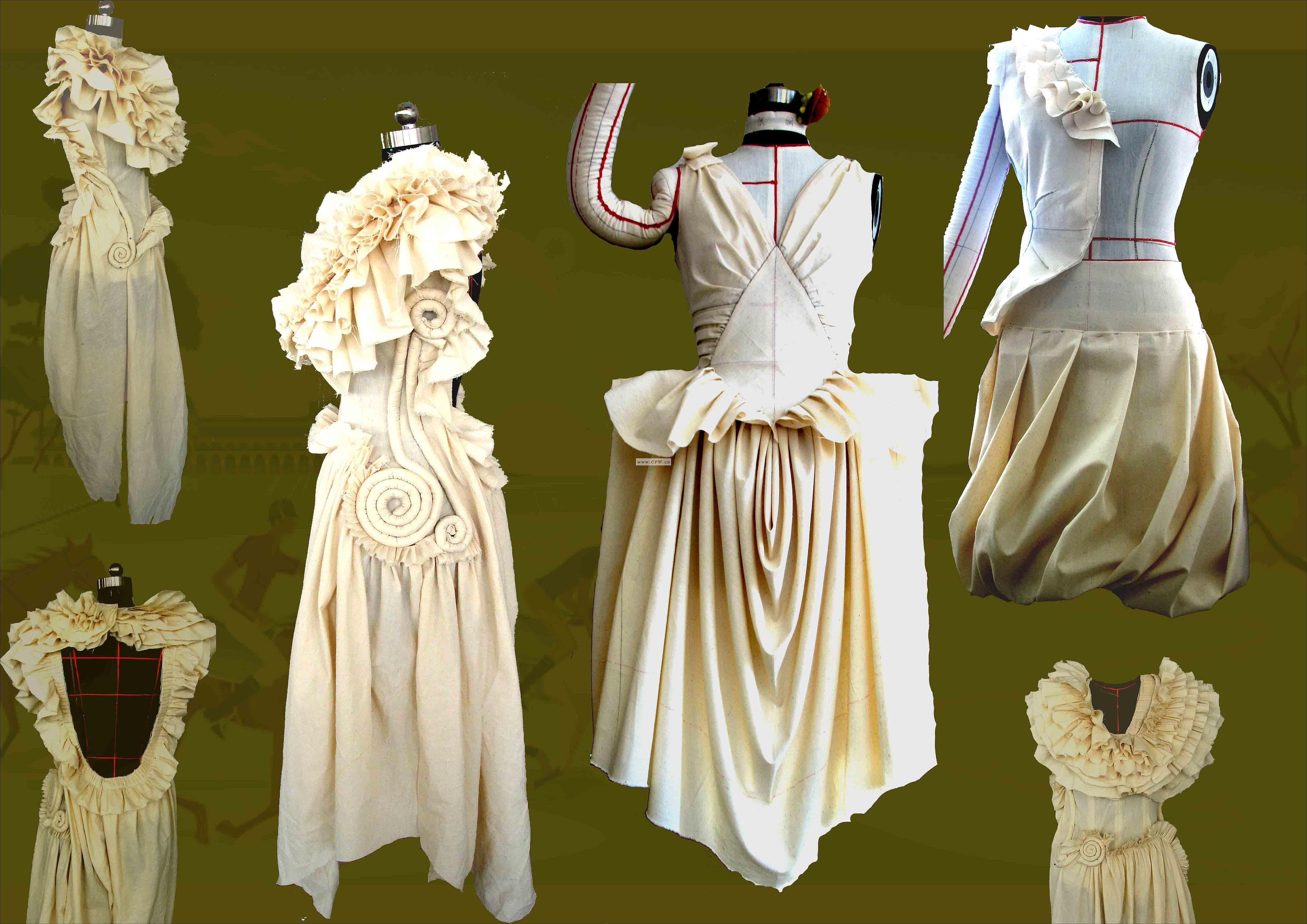 立裁-大赛作品设计-服装设计-服装设计网手机版|触屏版