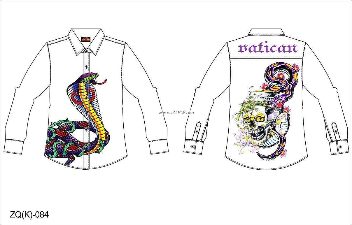 設計圖-男裝設計-服裝設計