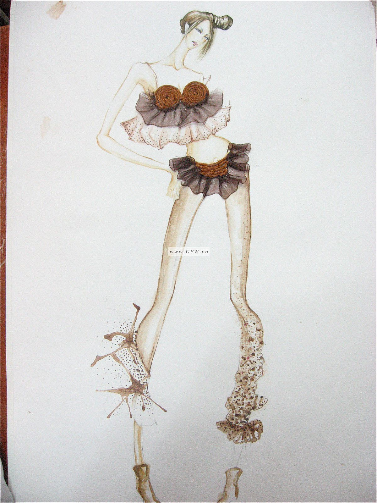 桐瑟-女装设计-服装设计