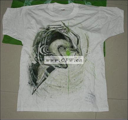 手绘图案设计-男装设计-服装设计