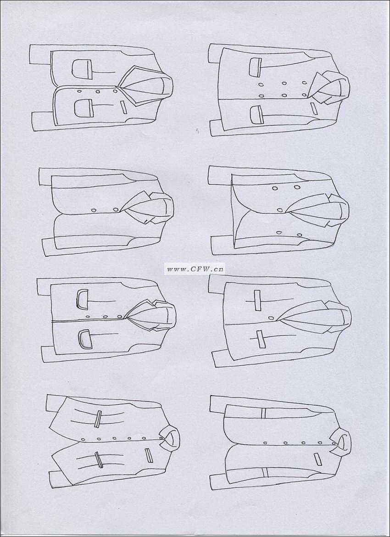 女装设计-女装设计图-女装款式效果图-女装设计师手稿