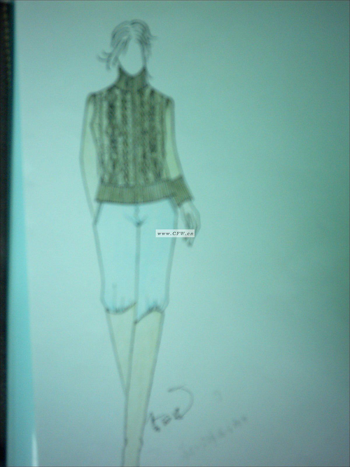 手绘艺术-毛衫针织设计-服装设计