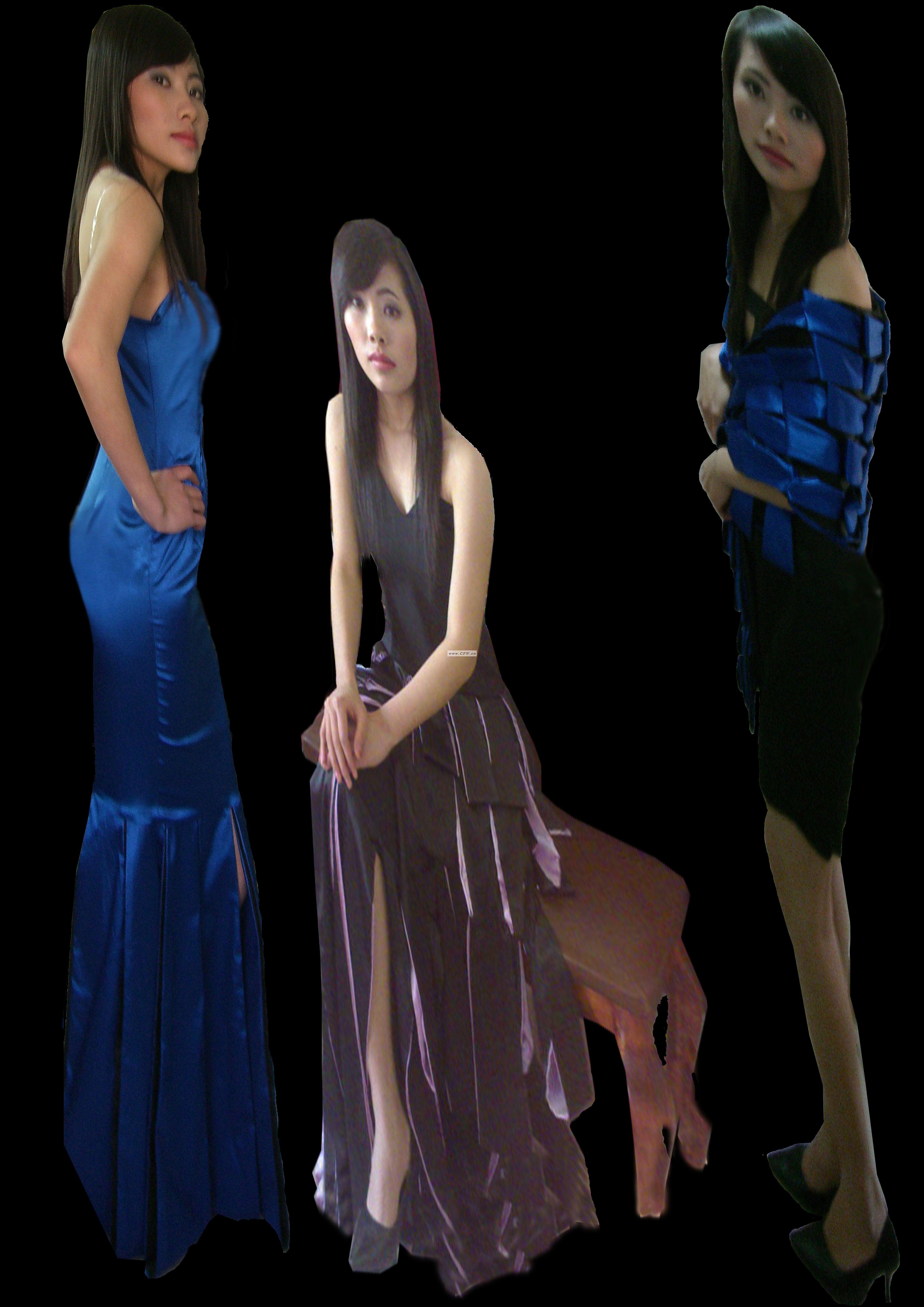 方块华尔兹-婚纱礼服设计-服装设计