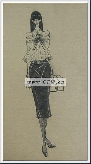 服装设计草图