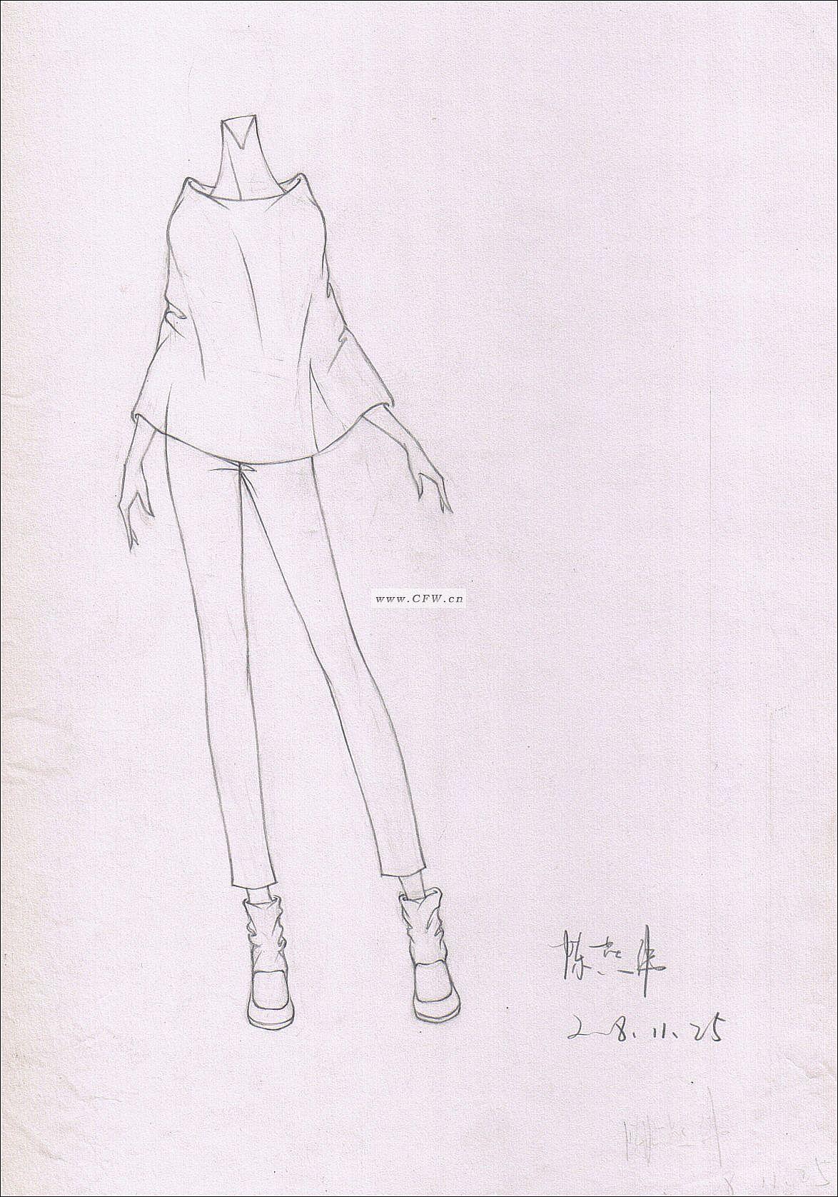 春裝-女裝設計-服裝設計