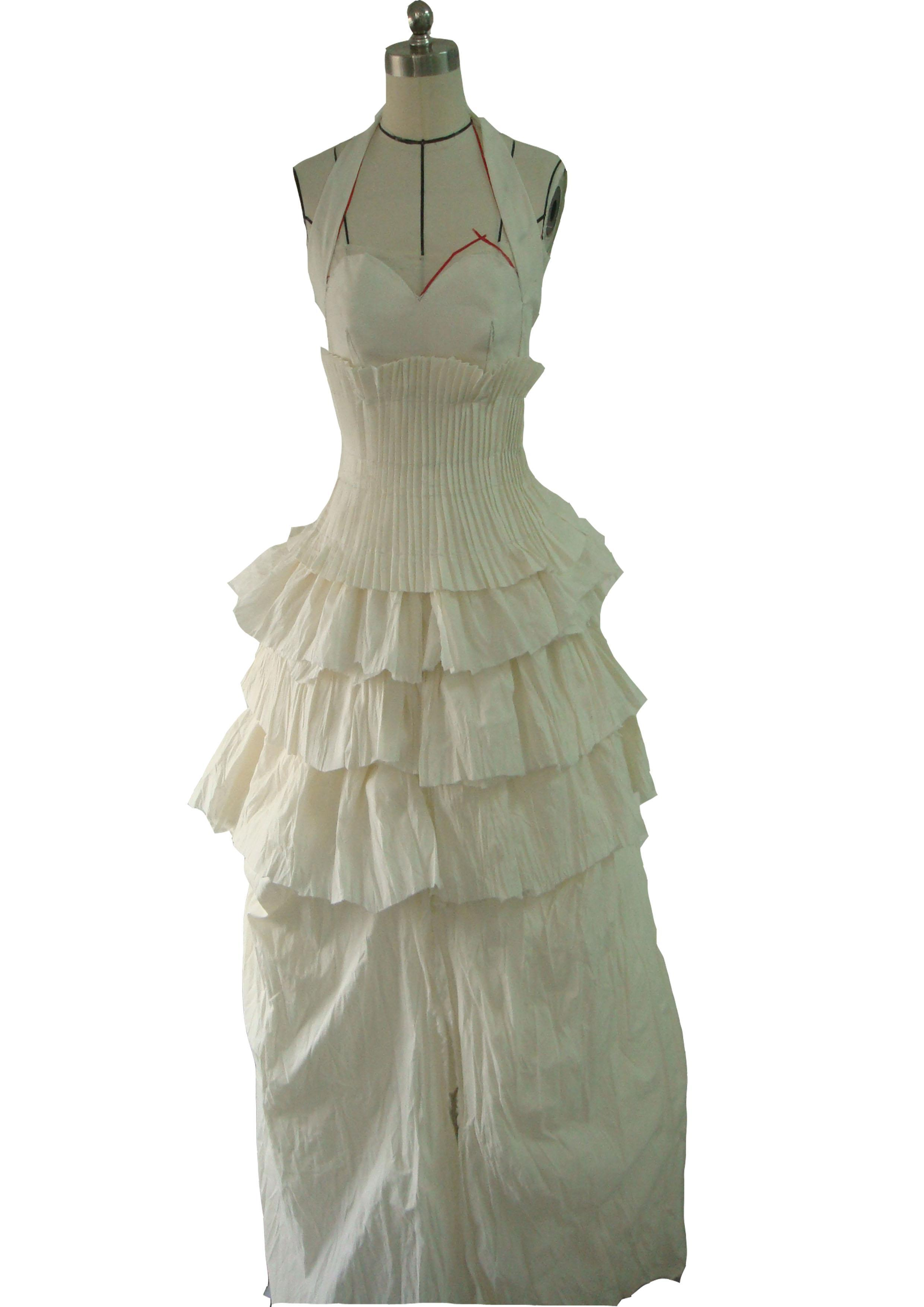 礼服立裁-婚纱礼服设计-服装设计