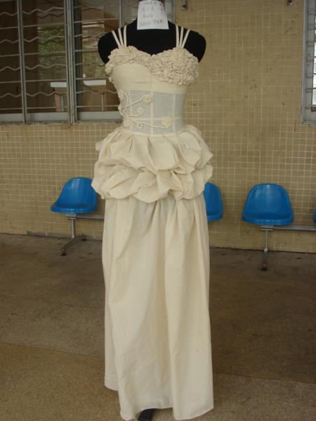 立裁作品-婚纱礼服设计-服装设计