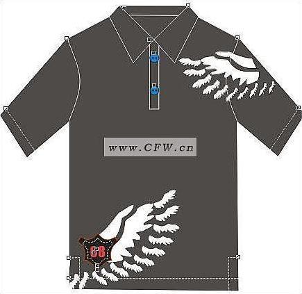 cdr设计-男装设计-服装设计