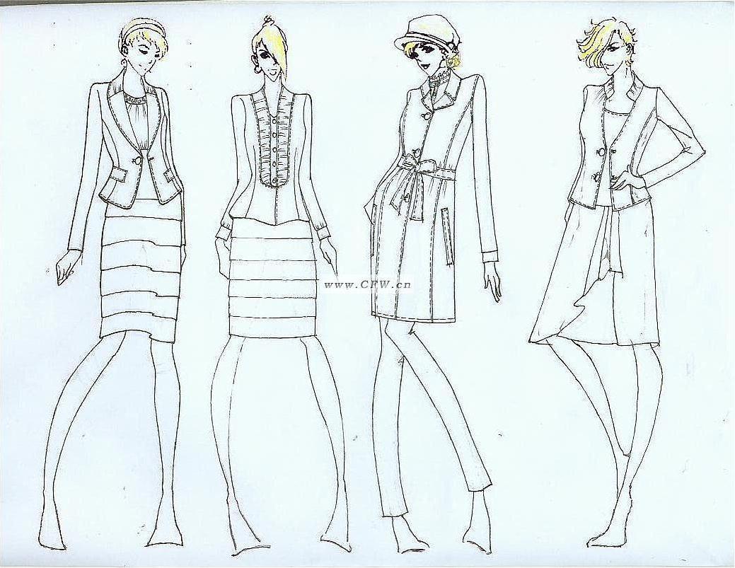 作品-女装设计-服装设计