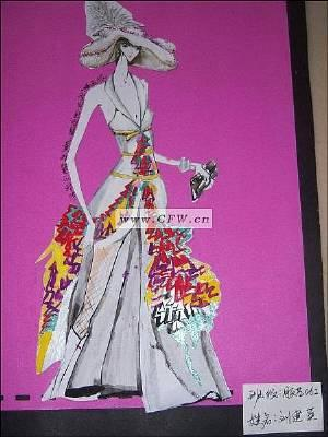 对比色-女装设计-服装设计-服装设计网手机版|触屏版