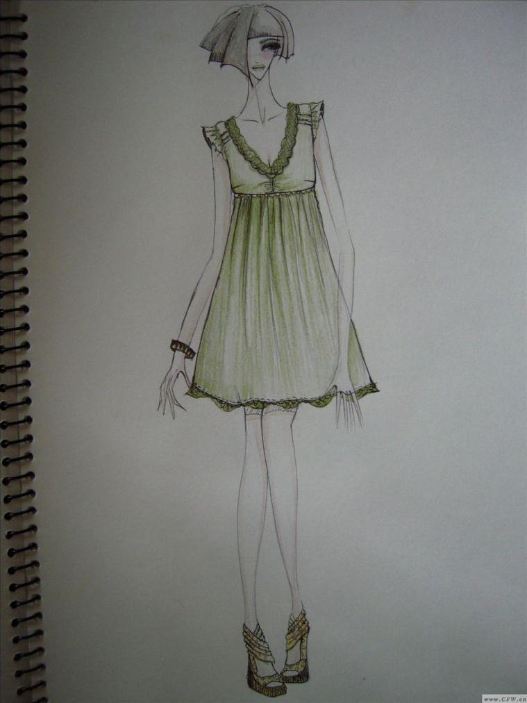 随意小稿-女装设计-服装设计