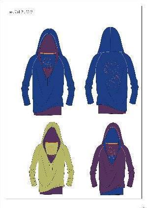 户外运动服装 校服设计图