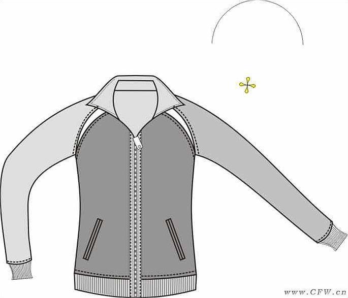 运动(校服设计图)作品-运动(校服设计图)款式图图片