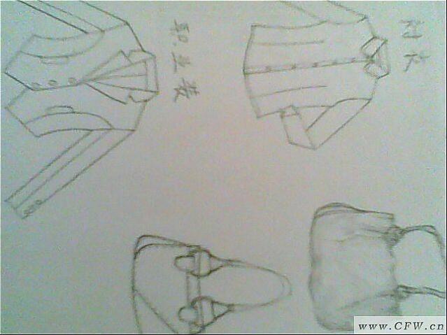 职业装和衬衣作品-职业装和衬衣款式图