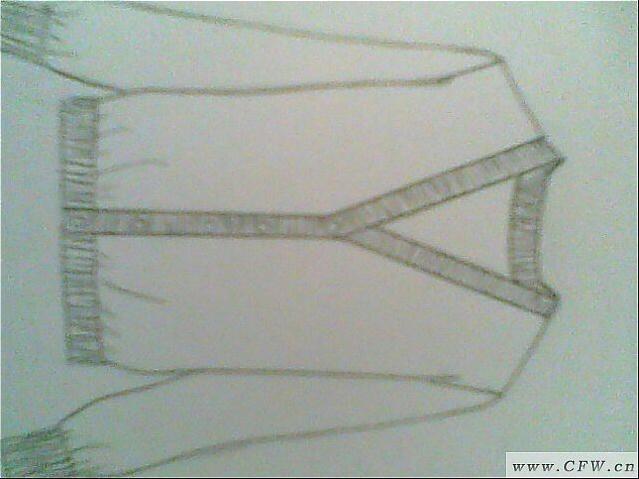 针织衫作品-针织衫款式图