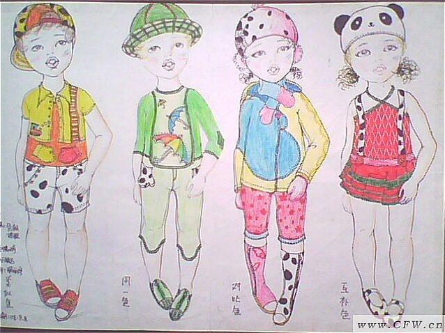 广州服装陈列师培训_小熊猫-童装设计-服装设计