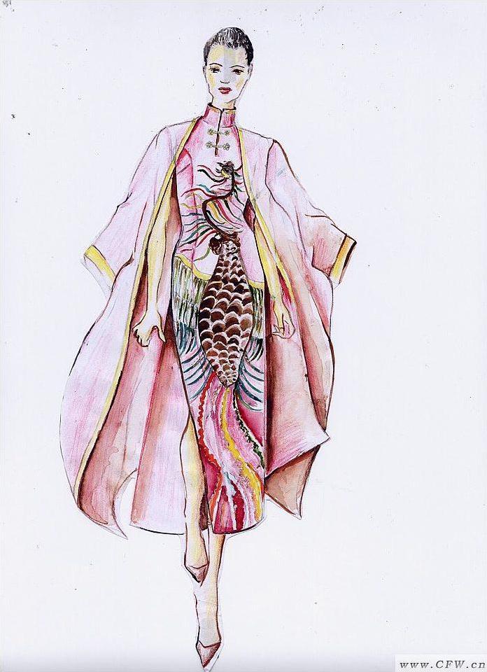 古装-女装设计-服装设计