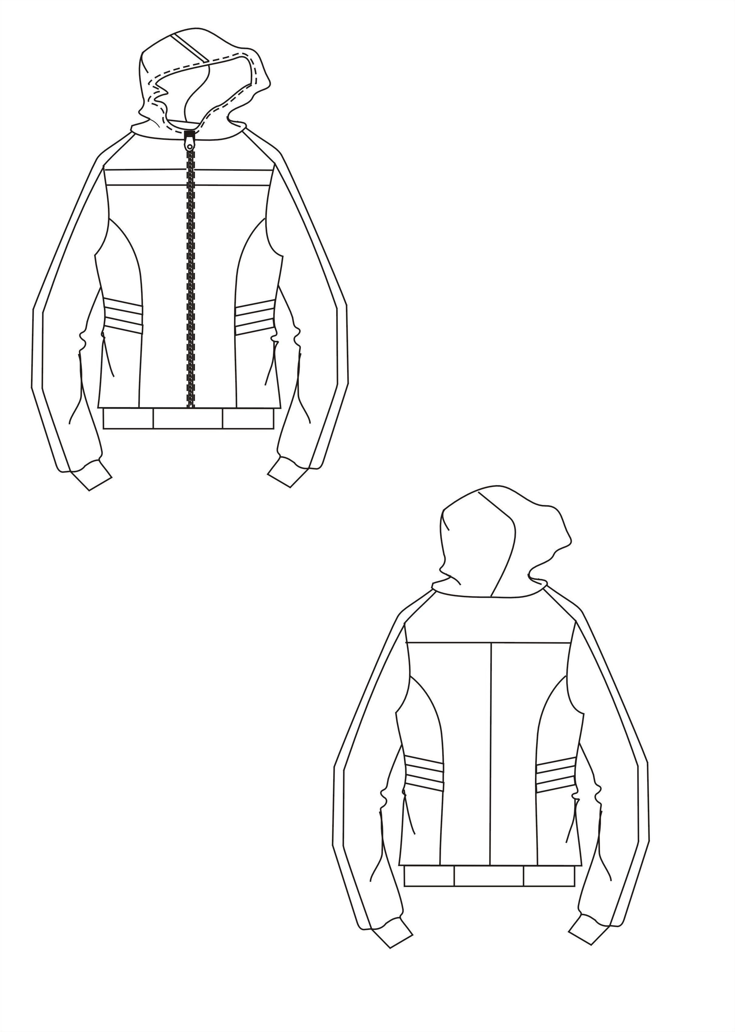 运动装-女装设计-服装设计