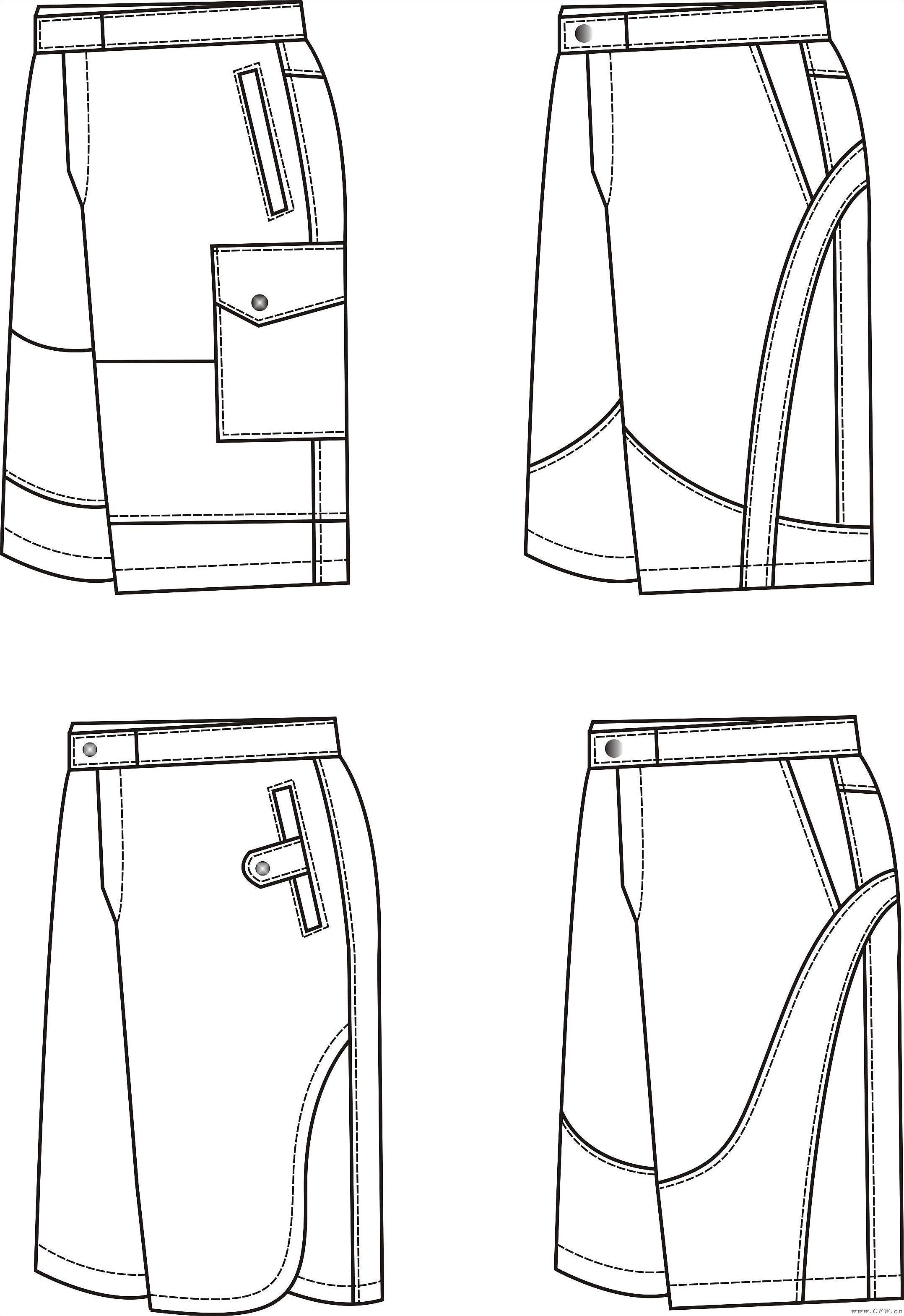运动休闲-男装设计-服装设计
