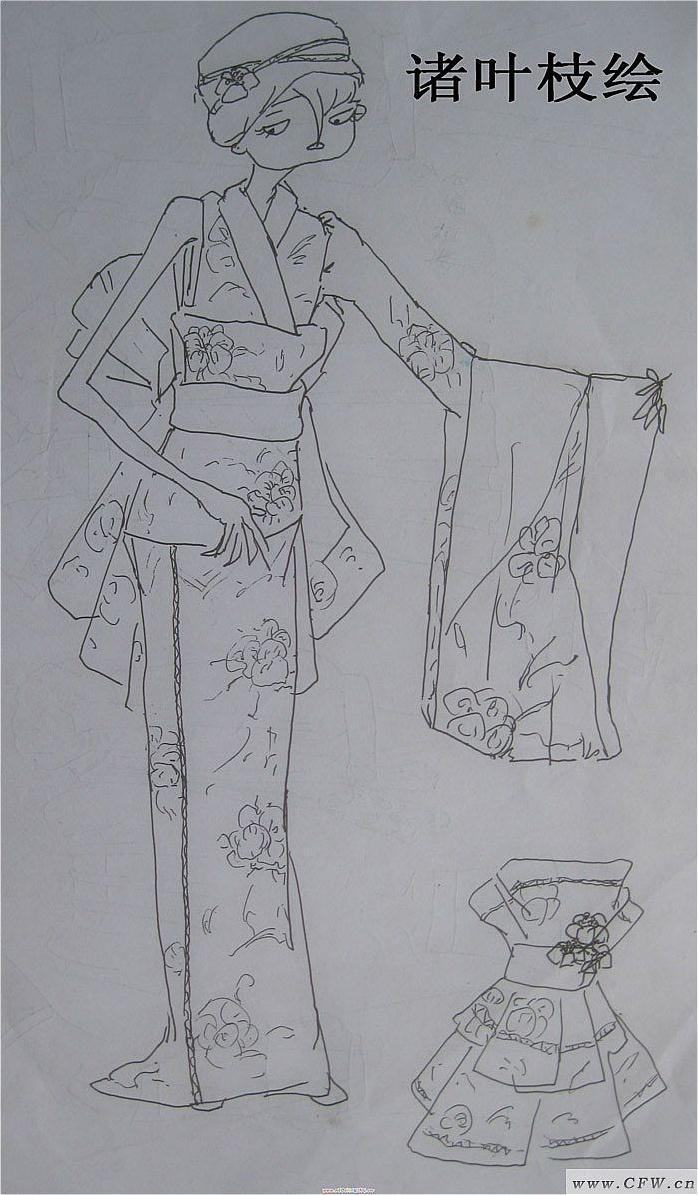 创作草图-女装设计-服装设计