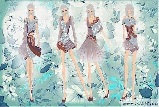 民族服装-图案设计设计-服装设计
