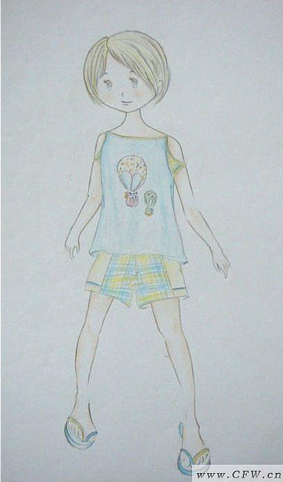 童装系列手绘图片大全
