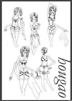 蒙古族服饰设计-女装设计-服装设计-服装设计网手机版
