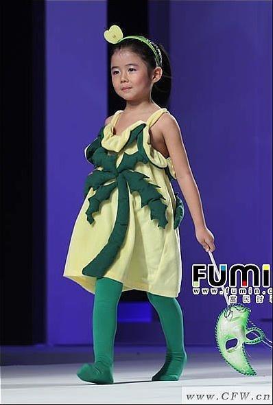 """""""魔方""""秀系列作品-童装设计-服装设计"""