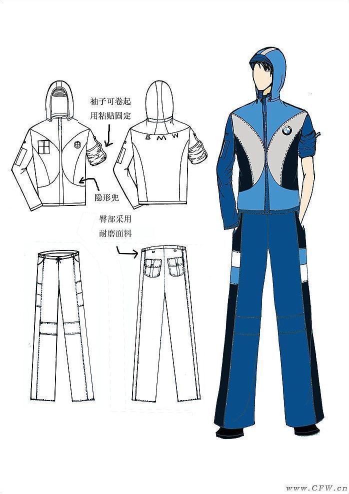 动漫 服装 工作服 卡通 漫画 头像 制服 698_988 竖版 竖屏