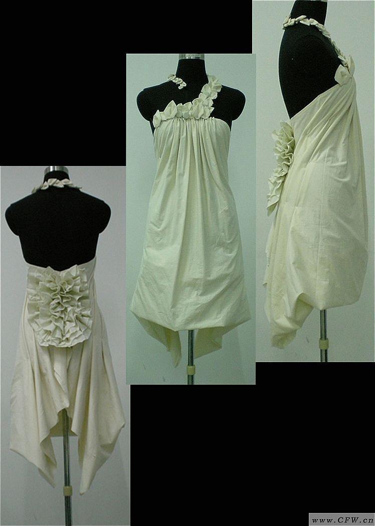 立裁-婚纱礼服设计-服装设计