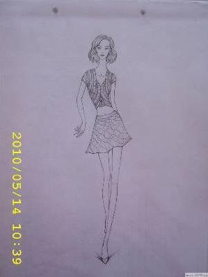 简笔画 手绘 素描 线稿 299_398 竖版 竖屏