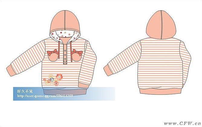 款式图-童装设计-服装设计