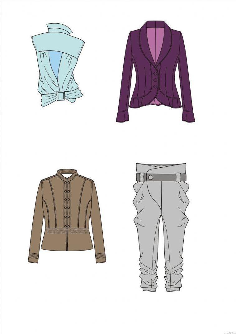 电脑绘图-女装设计-服装设计
