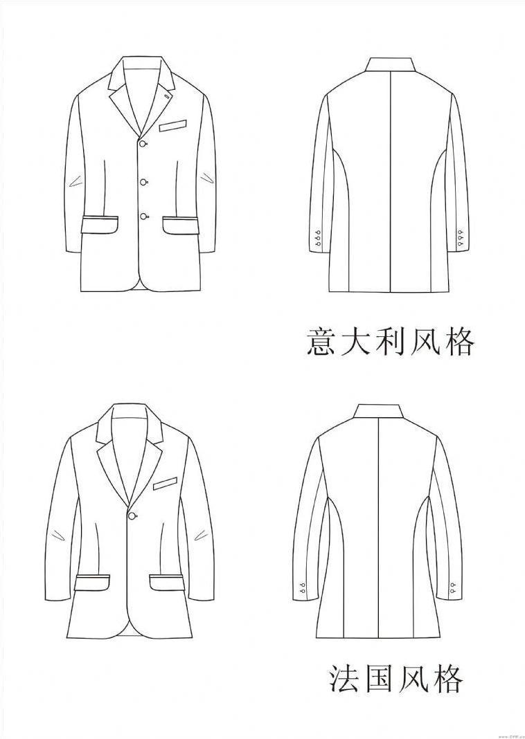 男装设计作品-男装设计款式图图片