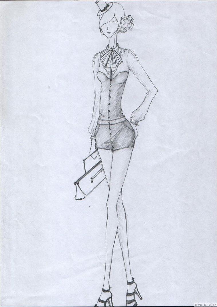 办公室的时尚-女装设计-服装设计