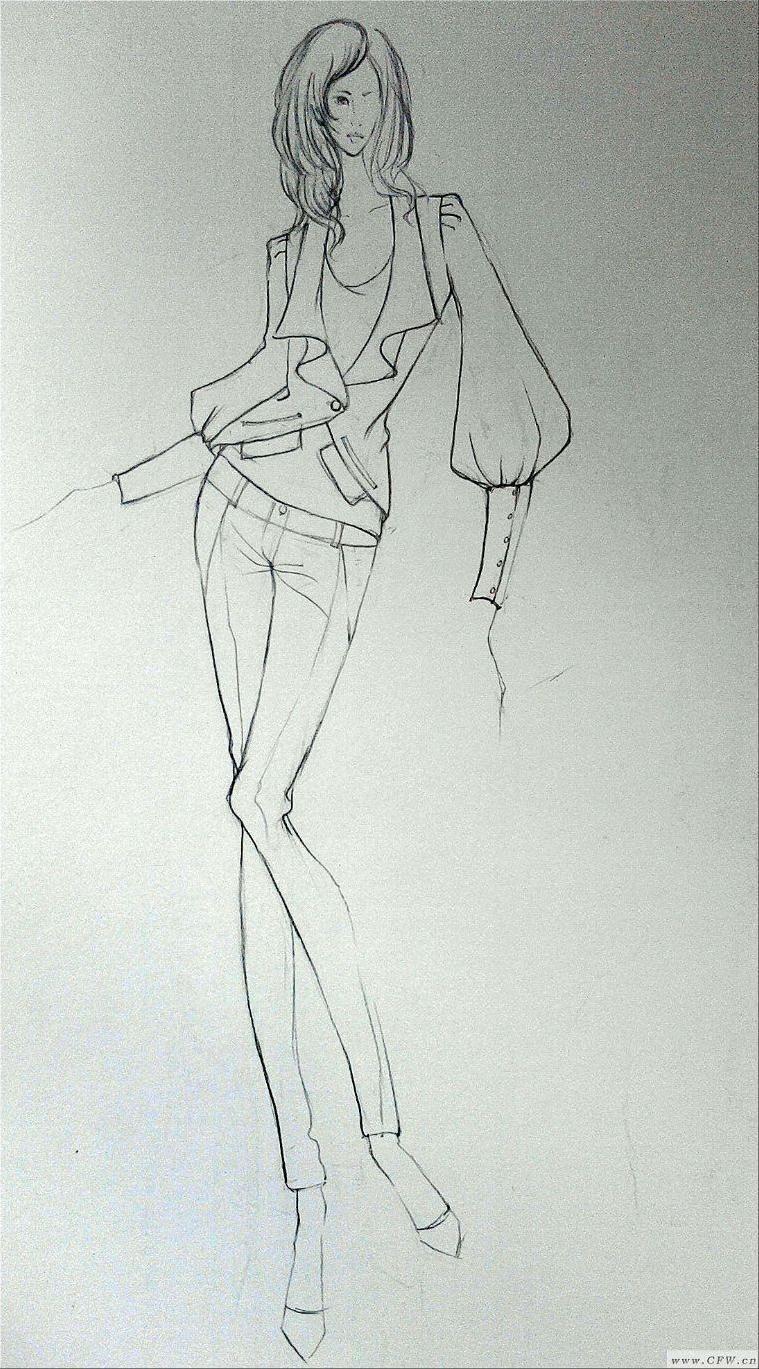 成衣设计-女装设计-服装设计