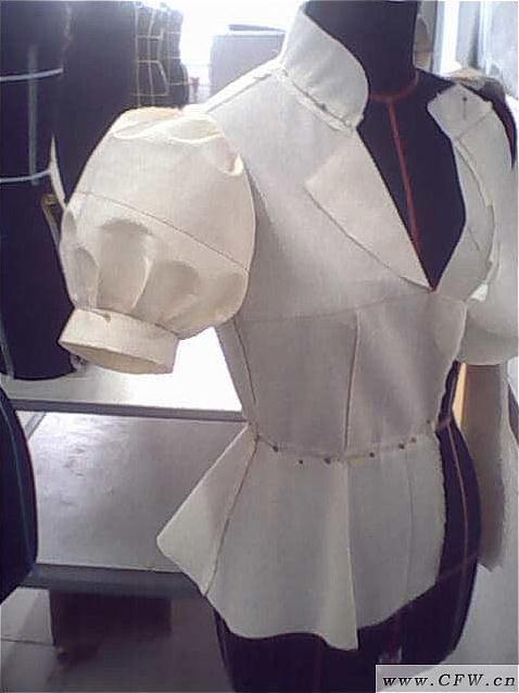 立裁作品-女装设计-服装设计