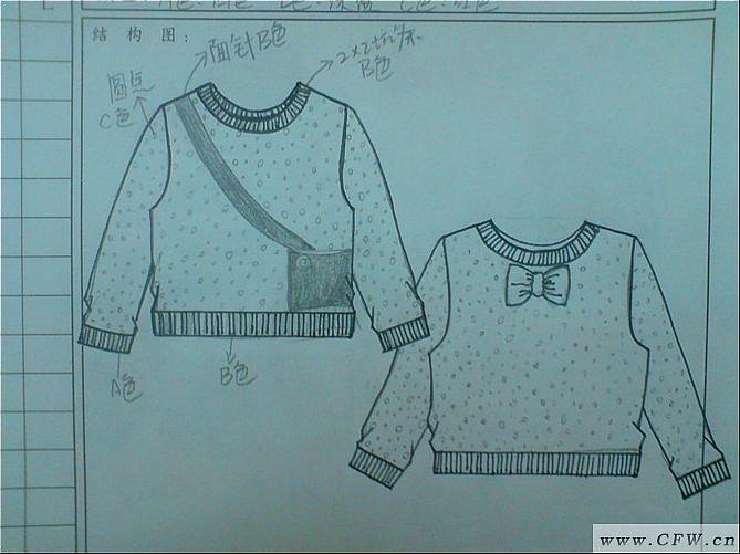 童装毛衫-童装设计-服装设计