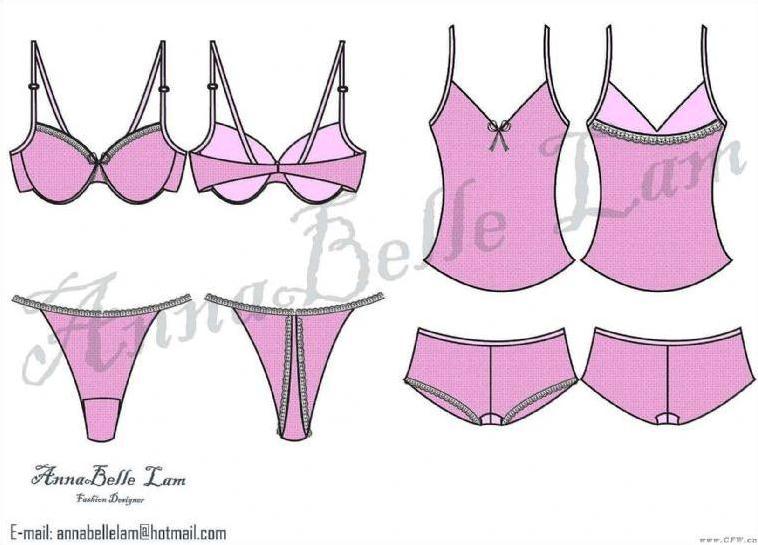 文胸设计:关于文胸外型设计:v型u型文胸有什么区别之处?