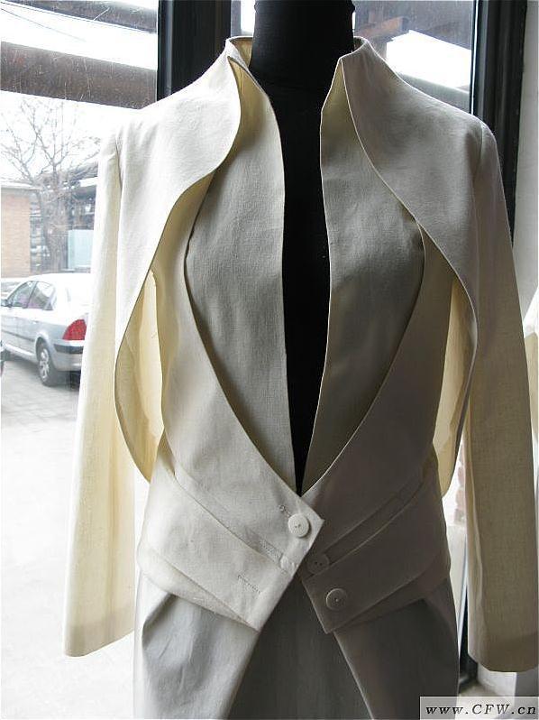 立体裁剪-女装设计-服装设计