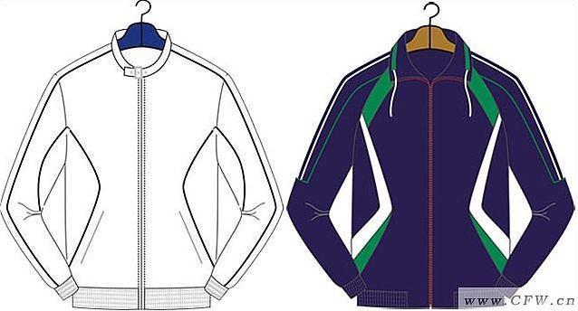男运动服-男装设计-服装设计