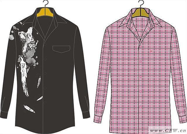 广州服装陈列师培训_男时装恤衫-男装设计-服装设计