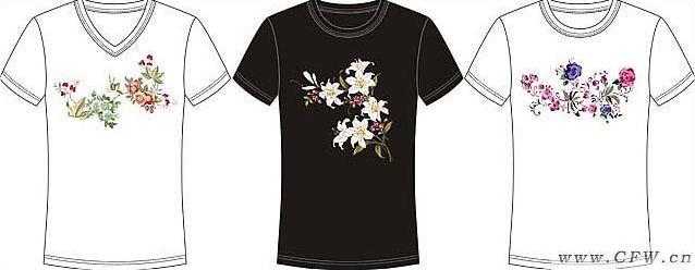 广州服装陈列师培训_女印花圆领T恤-女装设计-服装设计