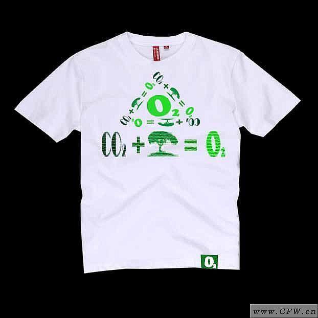 环保t恤作品 邱金威服装设计图图片