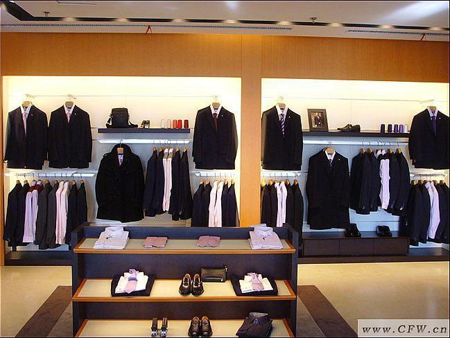 休闲男装卖场陈列法则-橱窗陈列设计-服装设计