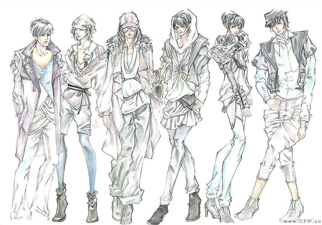 成衣系列-女装设计-服装设计