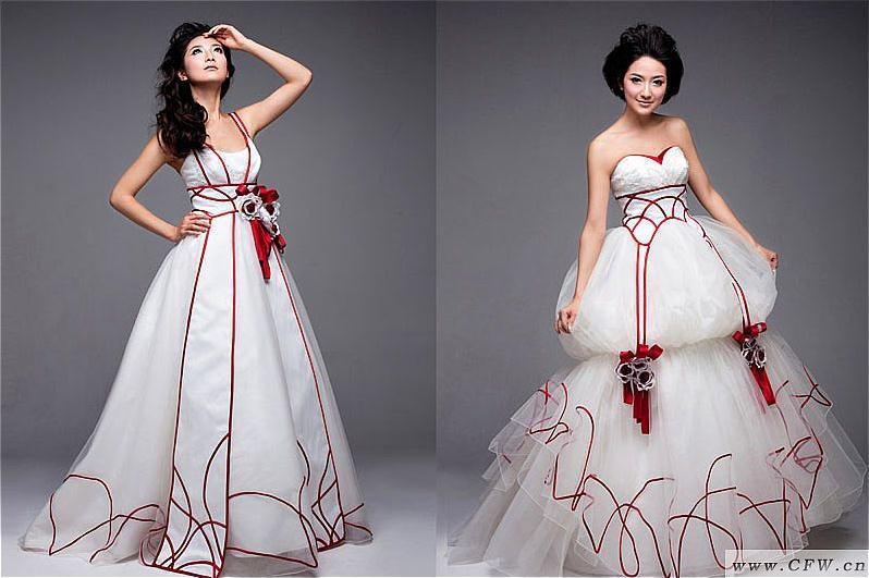 弗洛伦撒绘卷-婚纱礼服设计-服装设计