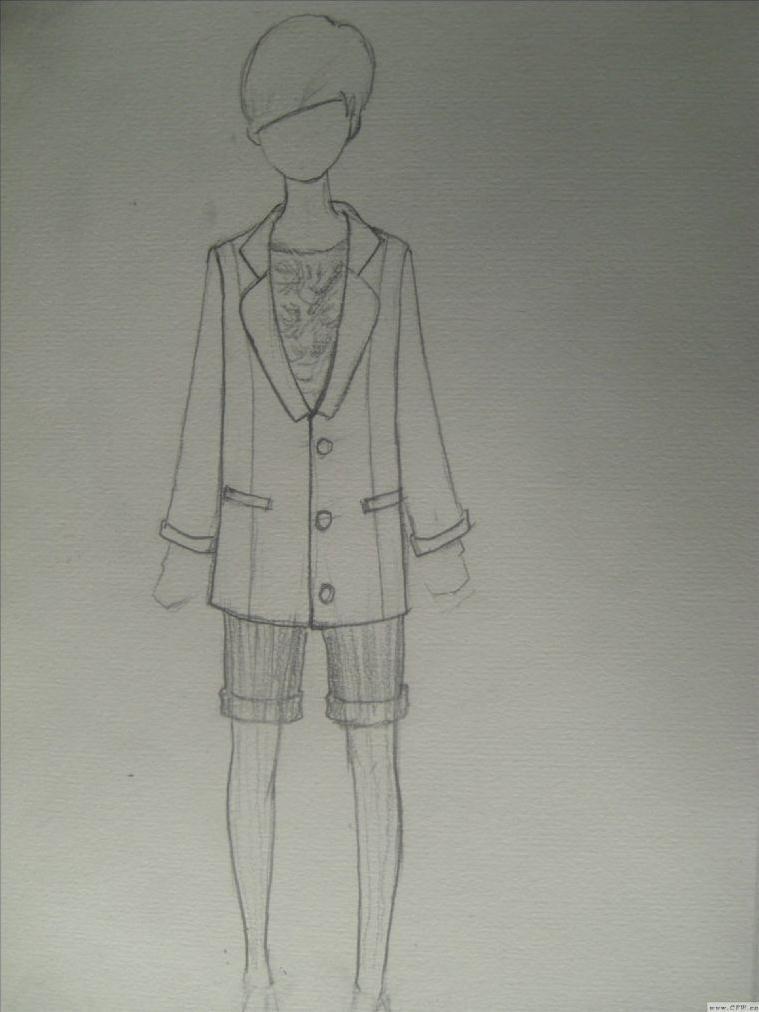手绘-图案设计设计-服装设计