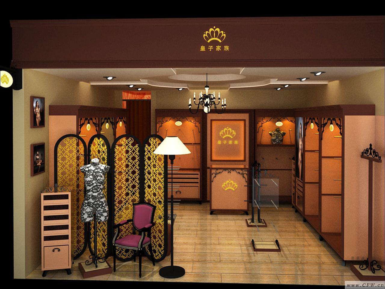 店面效果-橱窗陈列设计-服装设计