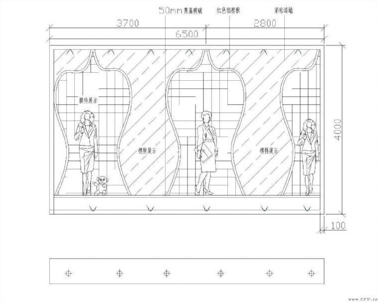 橱窗设计图